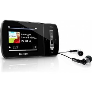 Philips GoGear 8 GB Aria MP3 Video Player with 2-Inch Color Screen