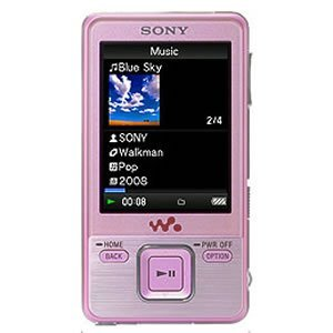 Sony 4 GB Walkman Video MP3 Player (Pink)