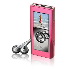Archos 500853 104 4GB MP3 and WMA Digital Music Player and Photo Viewer (Pink)