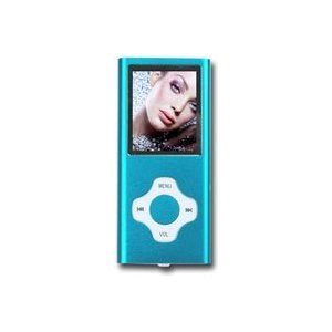 Augen 2GB MP3 Player In Blue Candy Wrap