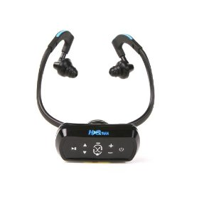 Intova H2O Man Waterproof MP3 Player with Headphones