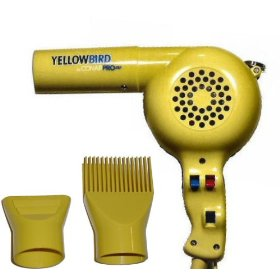 Conair yb075w hair dryer 1875w yellow bird