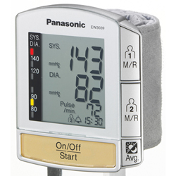 Panasonic ew3039s bp monitor