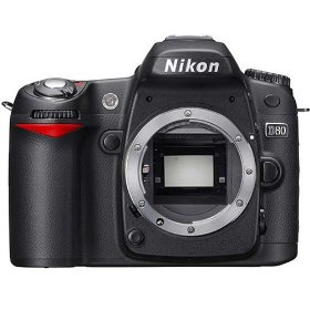 Nikon D80 10.2MP Digital SLR Camera (Body only)
