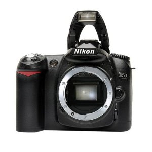 Nikon D50 6.1MP Digital SLR Camera (Body Only)