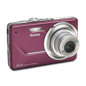 Kodak Easyshare M341 12.2MP Digital Camera with 3x Optical Zoom and 2.7-inch LCD (Orchid)