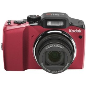 Kodak Easyshare Z915 10MP Digital Camera with 10x Optical Image Stabilized Zoom with 2.5 inch LCD (Red)