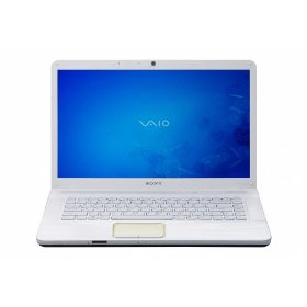 Sony VAIO VGN-NW330F/W 15.5-Inch Laptop (White)