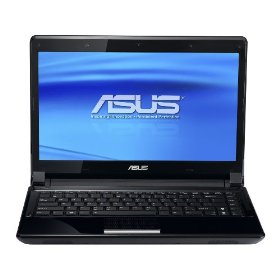 ASUS UL80Ag-A1 Thin and Light 14-Inch Black Laptop - 12 Hours of Battery Life (Windows 7 Home Premium)
