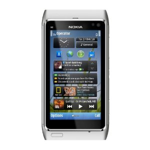 Nokia N8 Touchscreen Phone White - gps navigation, Voice Navigation, 12 MP Camera