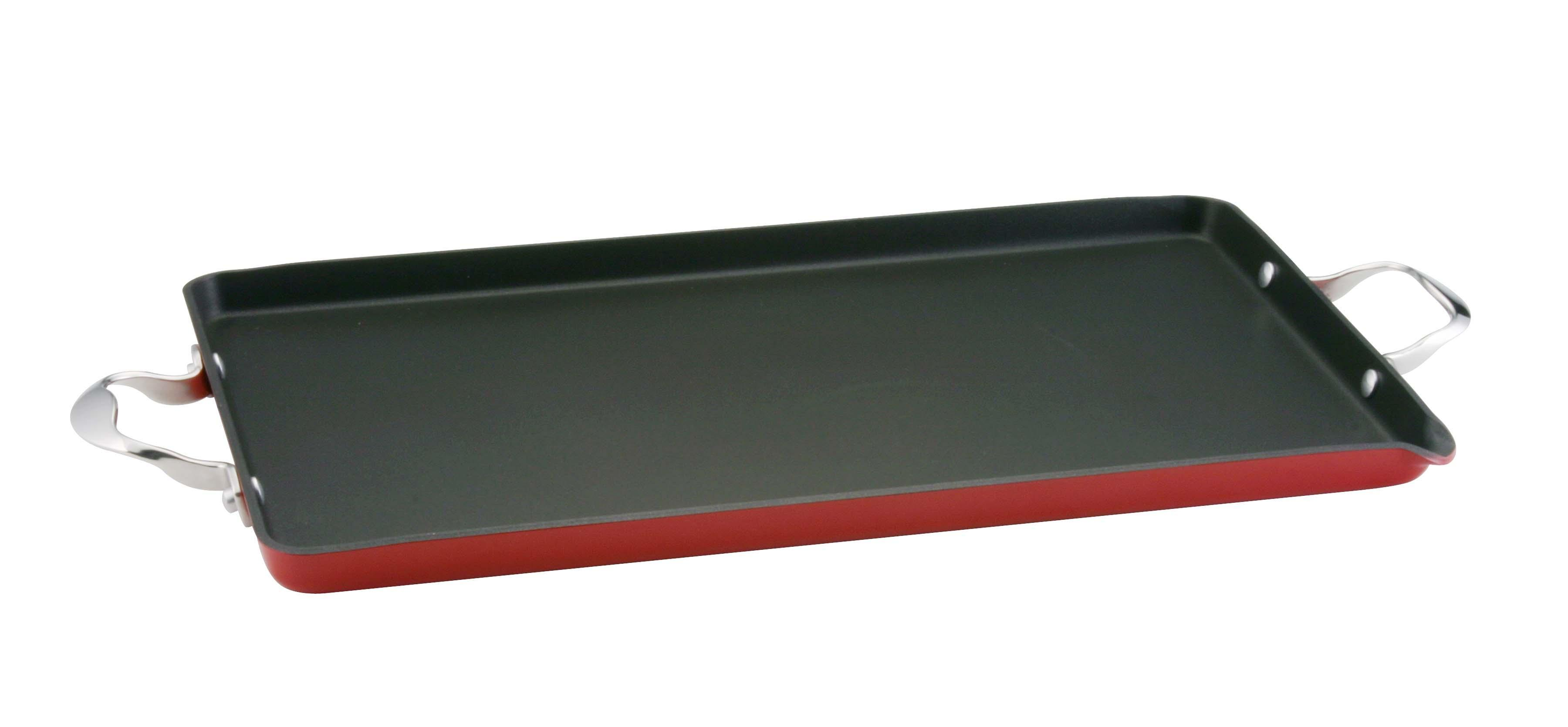 Kitchenaid 12294 red griddle double burner