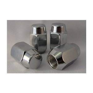 Chrome Lug Nuts Acorn Head Fits Dodge Models Set of 20 Lugs