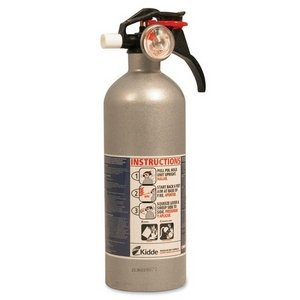Kidde 21006287 Auto Fire Extinguisher, 5BC, Silver