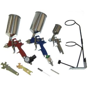 HVLP SPRAY GUN SET - Auto Paint Primer Topcoat Touch-Up