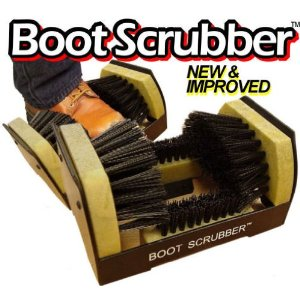 Jobsite Boot Scrubber