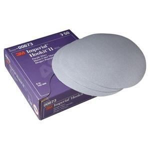 3M Automotive (3M 673) Imperial Hookit II Disc 00673, 6