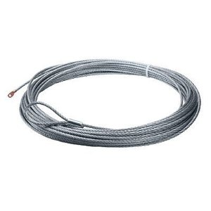 Warn 15712 Replacement Wire Rope - Measures 3/8-in x 125-ft