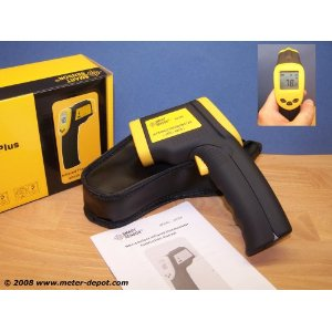 Infrared IR Thermometer w. Laser Great Tool HVAC AR350