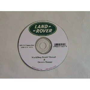 Land Rover Workshop Repair Manual CD