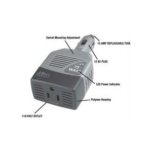 I-Tec 75 Watt Universal Power Inverter