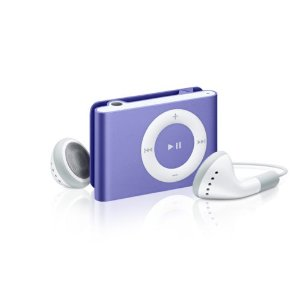 Apple iPod shuffle 1 GB Purple (2nd Generation) OLD MODEL