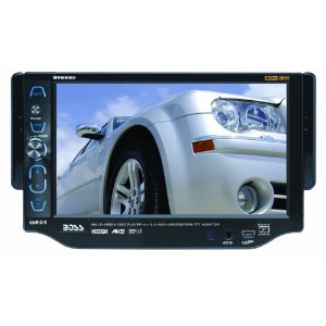 Boss BV8950 6.2-Inch Single Din In-Dash Widescreen Touchscreen TFT, Monitor/DVD/MP3/CD Receiver