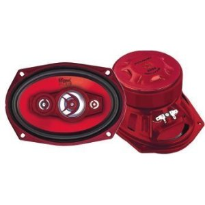 Pyramid 6994 6-Inch x 9-Inch 600 Watts FourWay Speakers