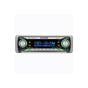 Pioneer DEH-P670MP In-Dash CD/MP3/WMA/WAV Receiver w/Deep Blue OEL Display