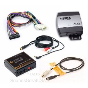 Complete Sirius Radio System for Satellite Ready Lexus PLUS AUX INPUT (iPod etc)