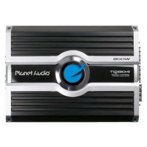 Planet Audio TQ804 100 Watts x 4 RMS MOSFET Power Four-Channel Power Amplifier