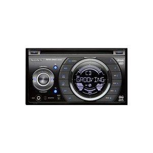 Sony WXGT77UI Double Din CD Player with USB 1-wire for iPod and other USB Devices (Black)