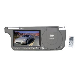 PYLE PLDSV71GR 7-Inch TFT Right Sun visor with Build-in DVD/USB-SD Card Slot (Grey)