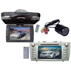 Pyle Mega DVD/Camera Package for Toyota Camry