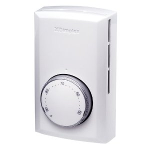 Dimplex #TD522W Line Voltage Thermostat DPST Switch