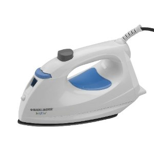 Black & Decker IM310 Quick and Easy Iron with Nonstick Soleplate