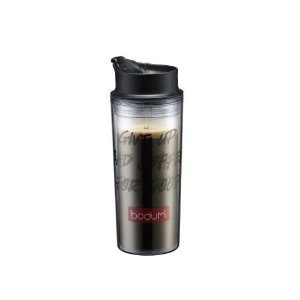 Bodum Acrylic Travel Mug with Bodum Logo, 16-Ounce