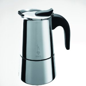 Bialetti Musa Brushed Stainless Espresso Maker