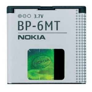 Nokia Li-Ion Battery For E51, N81 - Model BP-6MT Batteries & Adapters