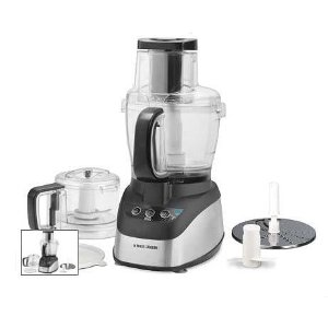 Black & Decker FP2510SKT Wide Mouth Food Processor with Chopper