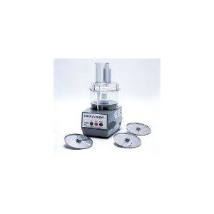 Commercial Food Processor, Light Duty, Grey Bowl Attachment, 3 Plates Included