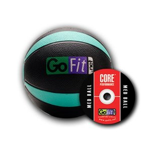 GoFit Medicine Ball with DVD Training Session by Mark Verstegen