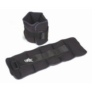 Fitness by Cathe 10-Pound Neoprene Ankle/Wrist Weights with DVD