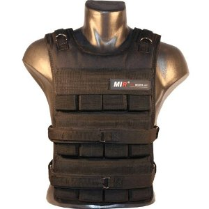 MiR Pro 50Lbs Adjustable Weighted Vest