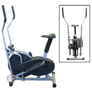 New 2 IN 1 Fitness Elliptical Cross Trainer & Exercise bike