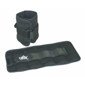 Fitness by Cathe 5-Pound Neoprene Ankle / Wrist Weights with DVD