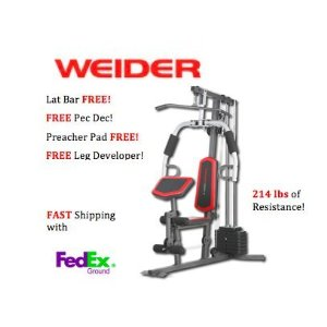 Weider 2980X Home Gym - INSIDE Delivery
