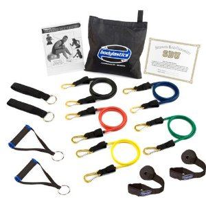 Bodylastics ***MAX TENSION Heavy Duty Resistance Bands System with User Book