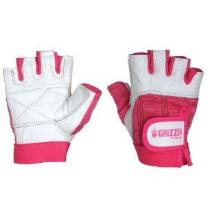 Grizzly Fitness Breast Cancer Training Gloves