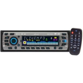 Lanzar Vibe VBD1100MP3 - Radio / CD / MP3 player - Full-DIN - in-dash - 4-channel - 60 Watts x 4