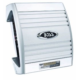 BOSS CX2500D CHAOS EXXTREME 400 Watts 2-Channel Mosfet Power Amplifier with Sub Level Control